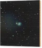 Whirlpool Galaxy / M51 Wood Print