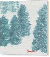 Whisper of the Forest II Wood Print