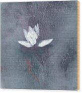 White Lotus II Wood Print