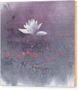 White Lotus III Wood Print