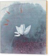 White Lotus IV Wood Print