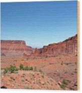 Wild Utah Landscape Wood Print