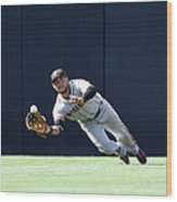 Will Venable and Gregor Blanco Wood Print