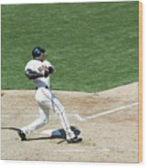 Willie Mays and Barry Bonds Wood Print