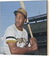 Willie Stargell Wood Print