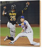 Wilmer Flores and Gregory Polanco Wood Print