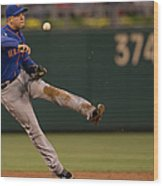 Wilmer Flores Wood Print