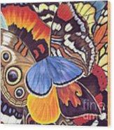 Wings Of California Wood Print