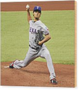 Yu Darvish Wood Print