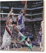 Zach Collins and Buddy Hield Wood Print