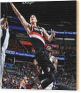 Zach Collins Wood Print
