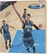 Zach Lavine Wood Print