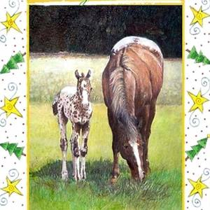 Palomino Quarter Horse Youth Halter Horse Drawing by Olde Time