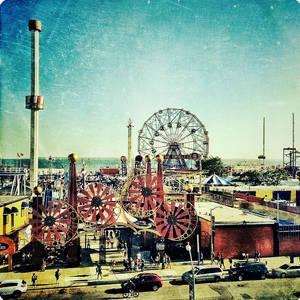 Coney Island Arcade Photograph by Natasha Marco
