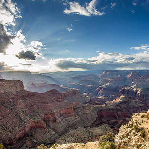 Grand Canyon Sunrise Panorama Photograph By Pierre Leclerc Photography