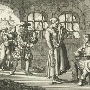 Portrait Of Charles Ii Of England Philip Van Gunst Drawing By Quint Lox