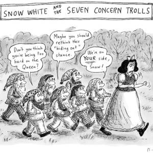 fd7d2bd59 Snow White Is Storming Away From A Group Of Seven by Roz Chast