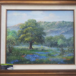 47a6e4c84cf Hill Country Creek Painting by R Masters