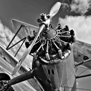 The Stearman Jacobs Aircraft Engine Photograph by David