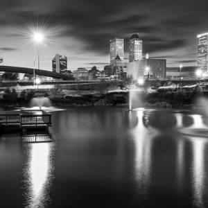 Neon Night - Bok Center - Tulsa Oklahoma Photograph by ...