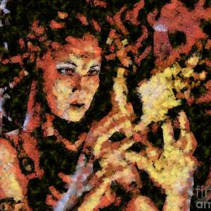 the Ifrit Mixed Media by Jinsei Takahashi