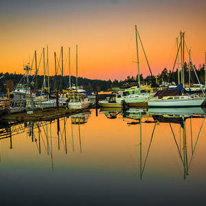 Gig Harbor Sunset Photograph by Penny Miller