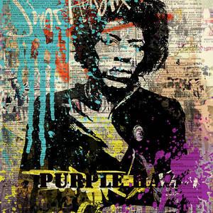 6d911567d Jimi Hendrix #purple Haze On Dictionary by Art Popop