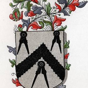 Masonic Arms Arms Of The Free Masons Drawing by Vintage Design Pics