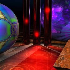 Spheres Digital Art By Lyle Hatch