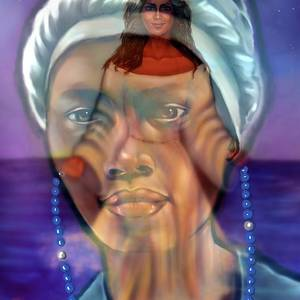 Yemaya- Mother Of All Orishas Digital Art by Carmen Cordova