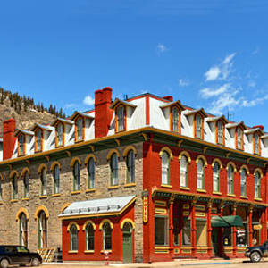 Silverton Grand Imperial Hotel Photograph By Adam Jewell