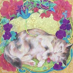 陽だまりスヤスヤ猫#sleepingcat by Tomoko Nakai