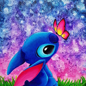 Stitch Painting By Aurore Loallyn