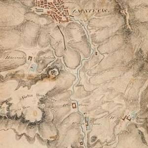 Map Of Texas 1835.Texas Revolution Santa Anna 1835 Map For The Battle Of San Jacinto