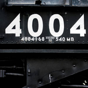 Trains Union Pacific Big Boy 4004 Front End Photograph by