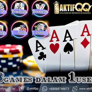 Agen Poker 8 Games Dalam 1 Id Digital Art By Aktifqq