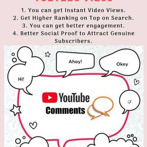 Buy Youtube Comments And Make A Youtube Video Go Viral