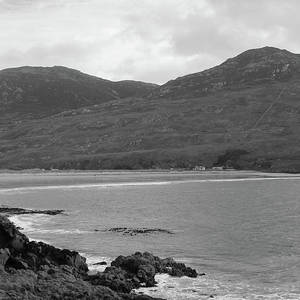 Portnoo Coastline Bw Donegal Photograph By Eddie Barron