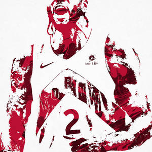 Kyle Lowry Toronto Raptors Pixel Art 60 Mixed Media By Joe