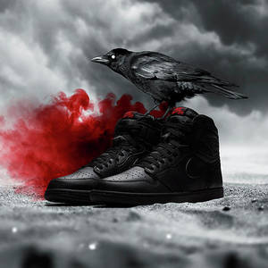 Nike Air Jordan 1 Soles Wallpaper Digital Art By Marian Petcu