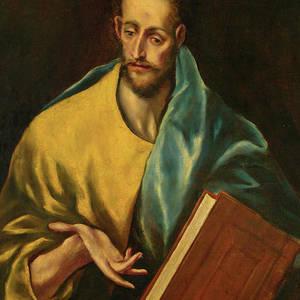 Art Print//Poster Saint James the Greater Guido Reni