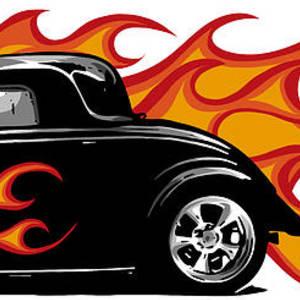 BNWT HOT ROD GARAGE CLASSIC VINTAGE CAR  SHOULDER BAG SCHOOL COLLEGE