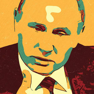 Vladimir Putin Artwork Painting By New Art
