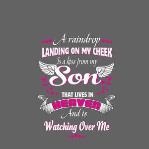 My Son was so Amazing Shirt in Memory of Son in Heaven T-Shirt