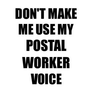 Instant Postal Worker Just Add Coffee Funny Coworker Gift Idea