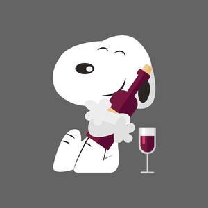 Snoopy Digital Art by David L Waldron