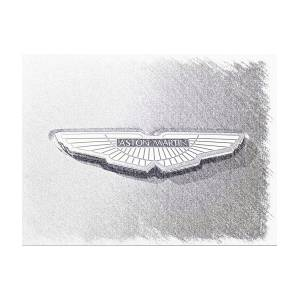 Aston Martin Emblem Photograph By Brooke Roby