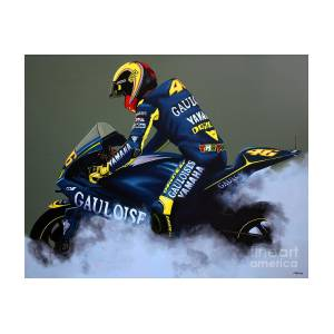c8d8ad6d2 Valentino Rossi Painting by Paul Meijering