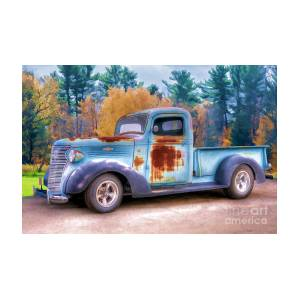 38 Chevy In The Fall by Patrice Dwyer