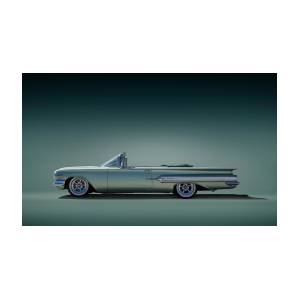 60 Impala Convertible Digital Art By Douglas Pittman